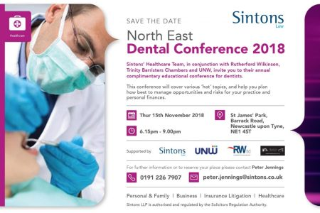 Family Business Succession Planning Uk Business Succession Plan     Sintons North East Dental A5 1pp Save The Date 21520