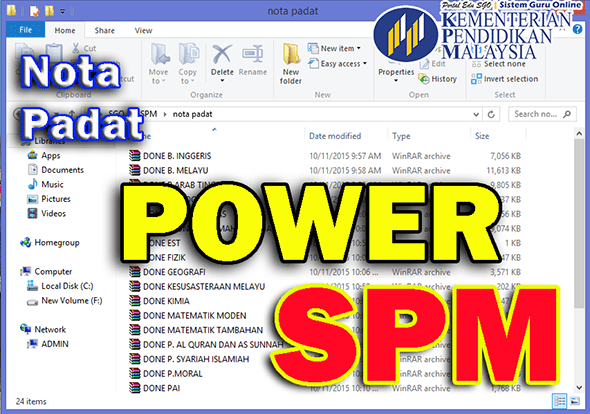 Nota Padat POWER SPM Subjek Sains