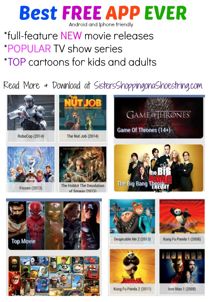 Best Free App Ever New Full Feature Movies And Shows
