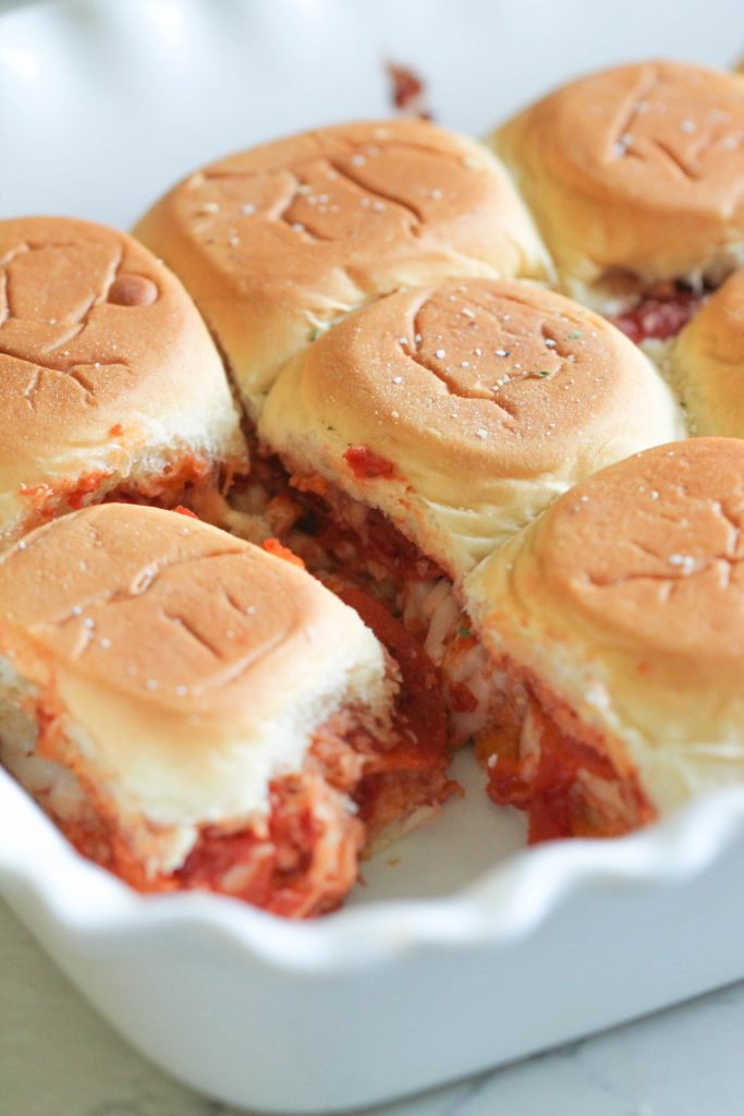 Pepperoni Pizza Sliders Six Sisters Stuff
