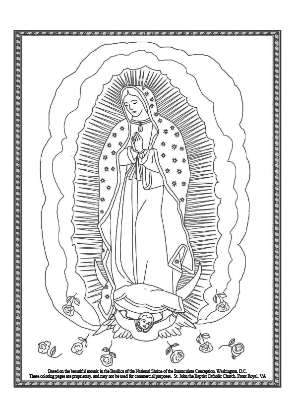 saint coloring pages # 3