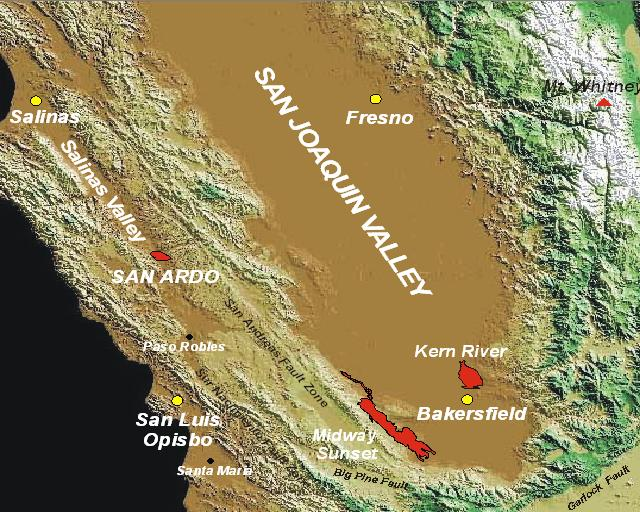 Facts about San Joaquin Valley Oil