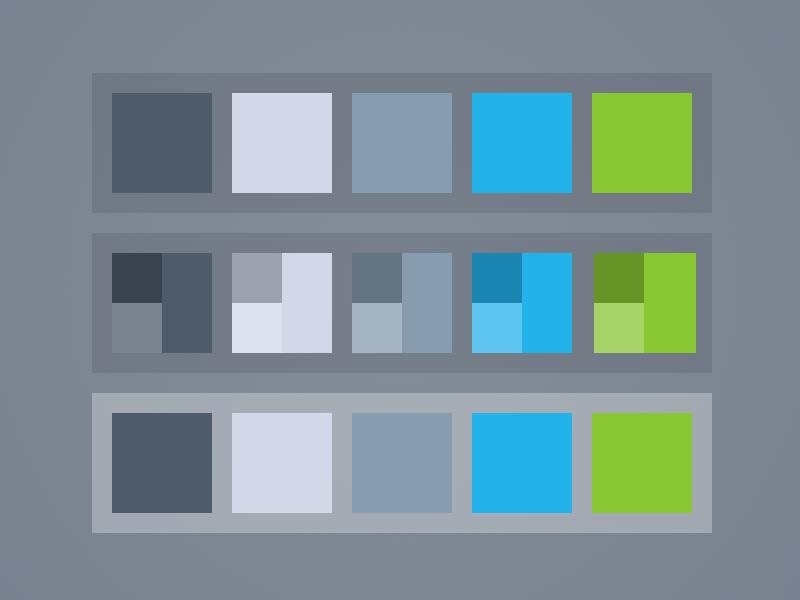 Color Palette Template Sketch Freebie Download Free