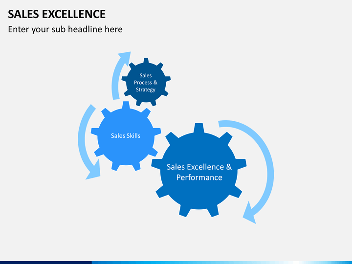 Sales Excellence Powerpoint Template Sketchbubble