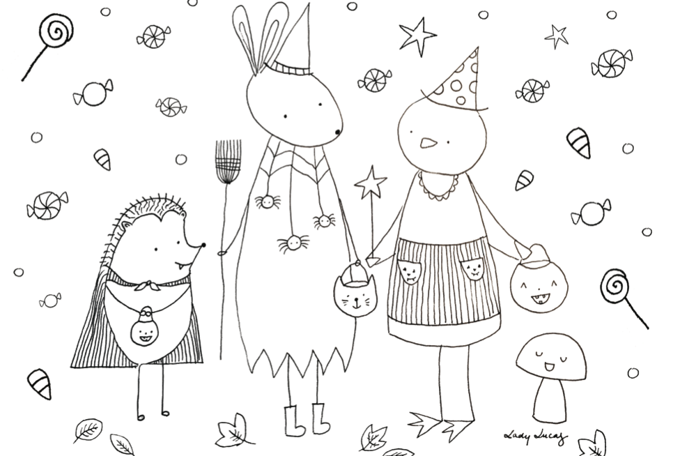Print Your Own Coloring Pages