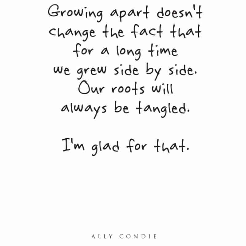 Image of: Heart Touching Growing Apart Friendship Quote Skiptomylouorg 25 Beautiful Friendship Quotes