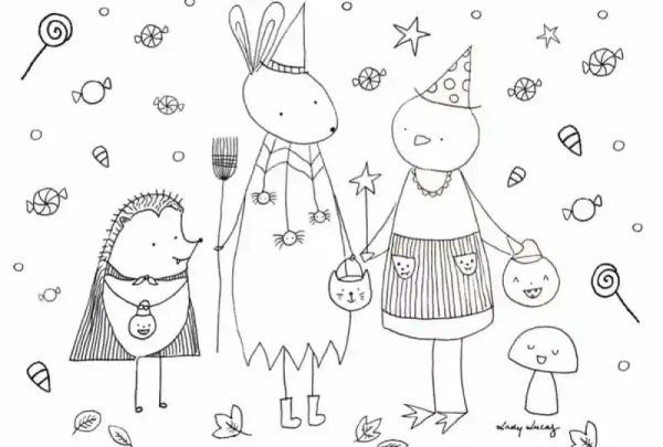 coloring halloween pages # 39