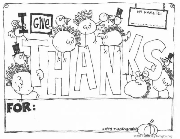 thanksgiving coloring pages # 13