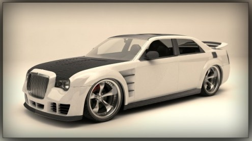 3D Car Virtual Tuning and Model Design Service   STUDIO SKY7     Posted in 3D