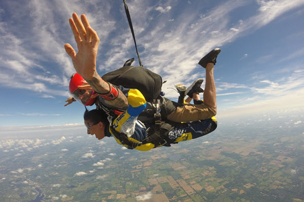 How Much Does It Cost To Skydive For The First Time