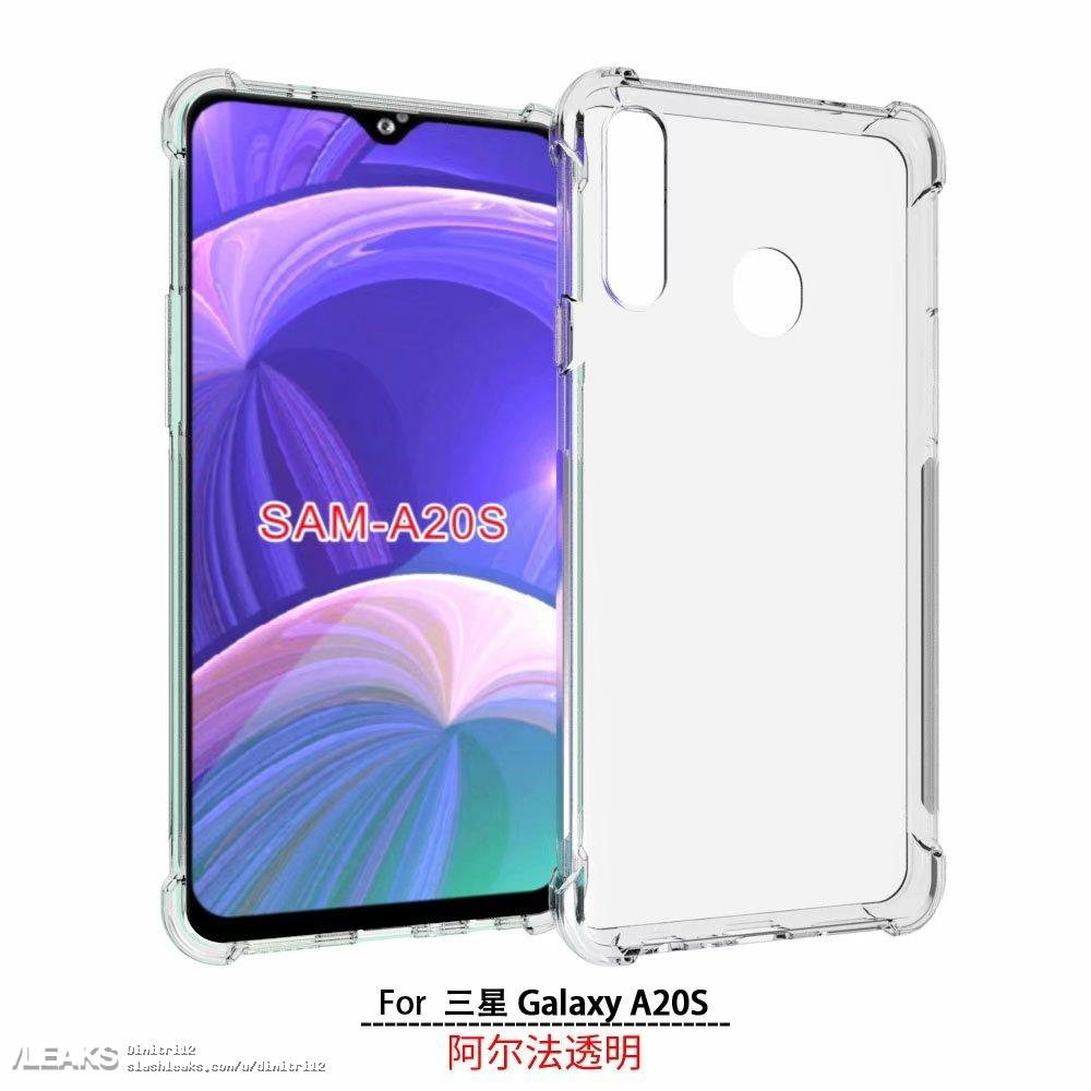 Samsung Galaxy A20s Rendered By Case Maker 171 Slashleaks