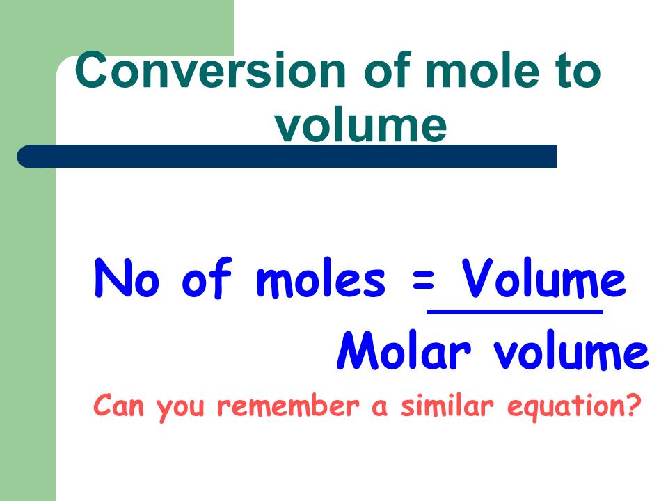 Mole Stoichiometry Mole Problems