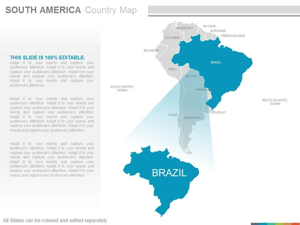 brazil country in map      Full HD MAPS Locations   Another World         largest country in South America and the fifth largest in the world by  area million square History Ireland Map of North and South America produced  by