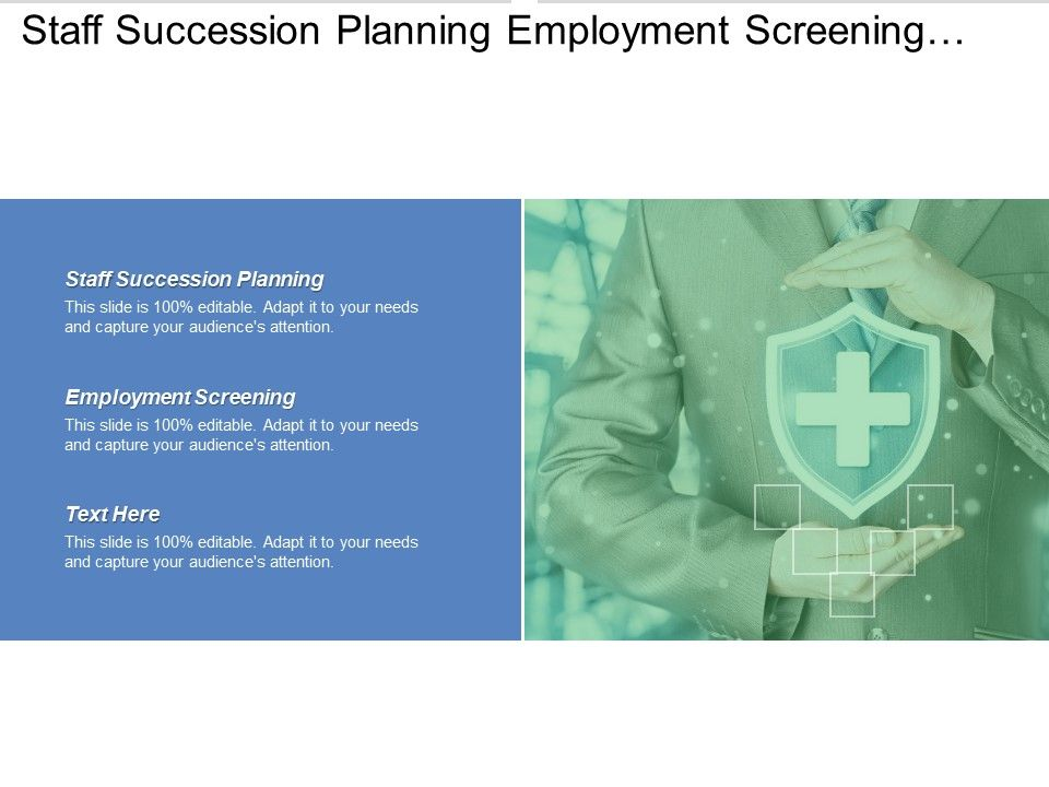 Staff Succession Planning Employment Screening Construction Schedule     staff succession planning employment screening construction schedule template cpb Slide01