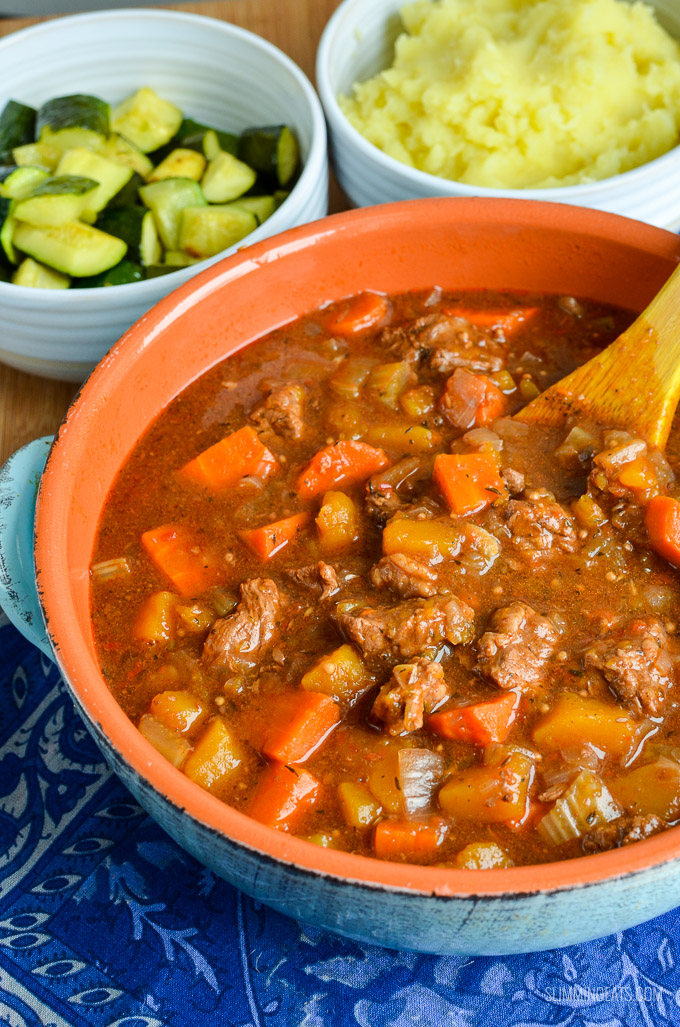 Syn Free Beef And Vegetable Casserole Oven Slow Cooker