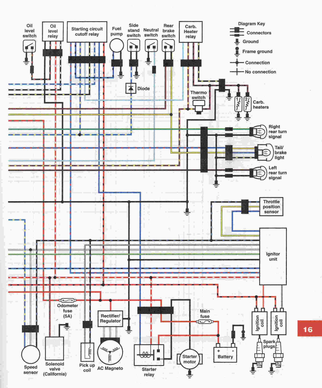 Custom Yamaha V Star 1100 Engine Diagram Wiring