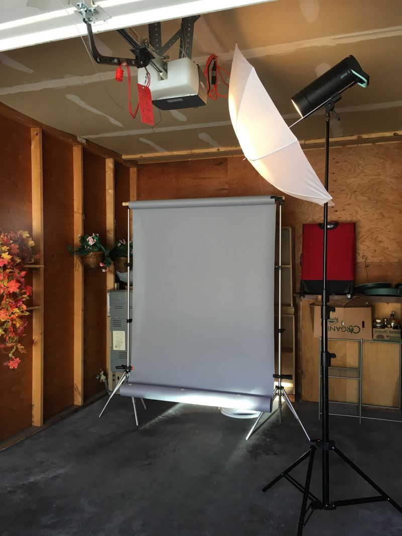 Umbrella Light Setup