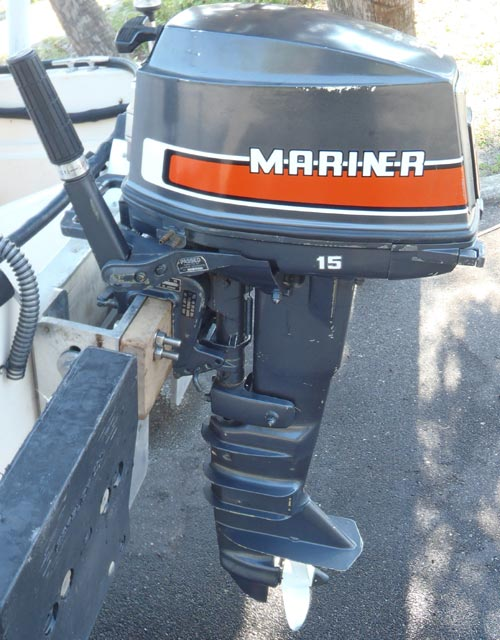 15 Mariner Hp Outboard 684c