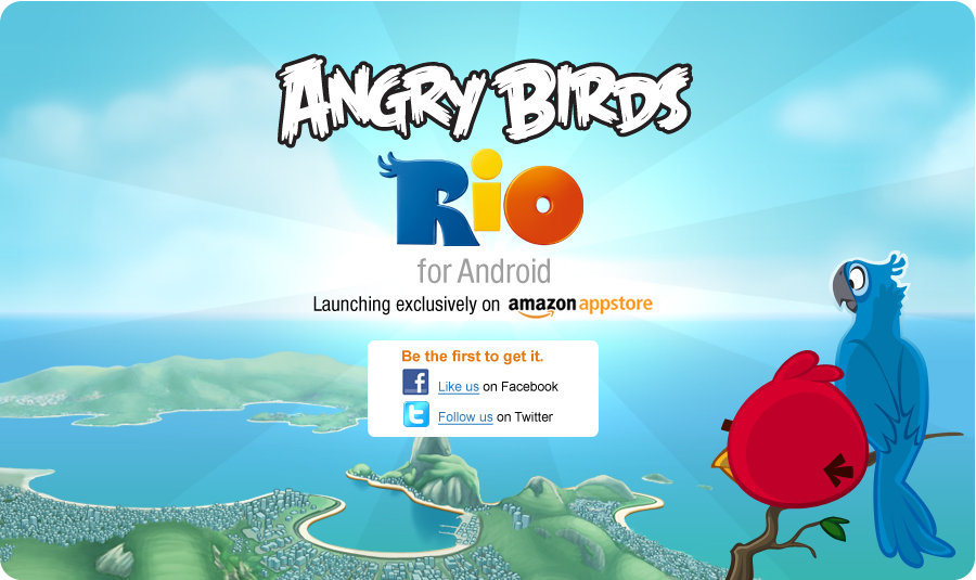Angry Birds Rio Amazon