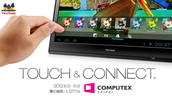 viewsonic 22 zoll tablet teaser