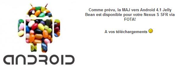 jelly bean sfr nexus s