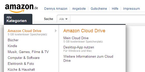amazon cloud drive in deutschland