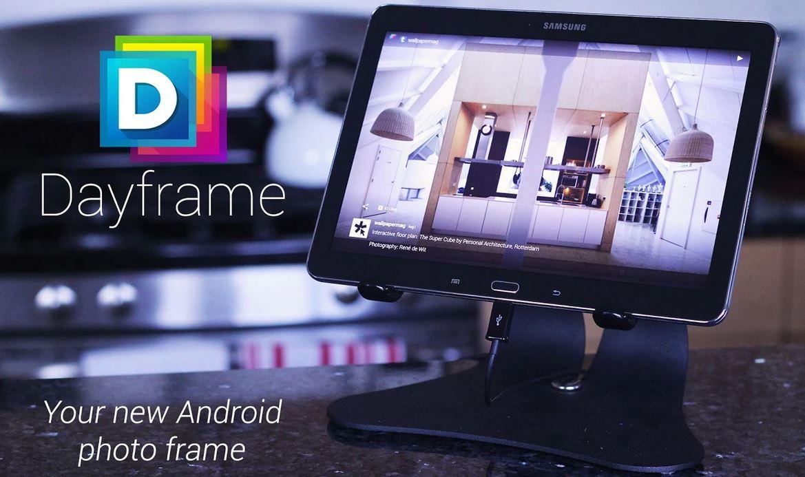 Dayframe macht aus Tablets und Smartphones digitale Bilderrahmen