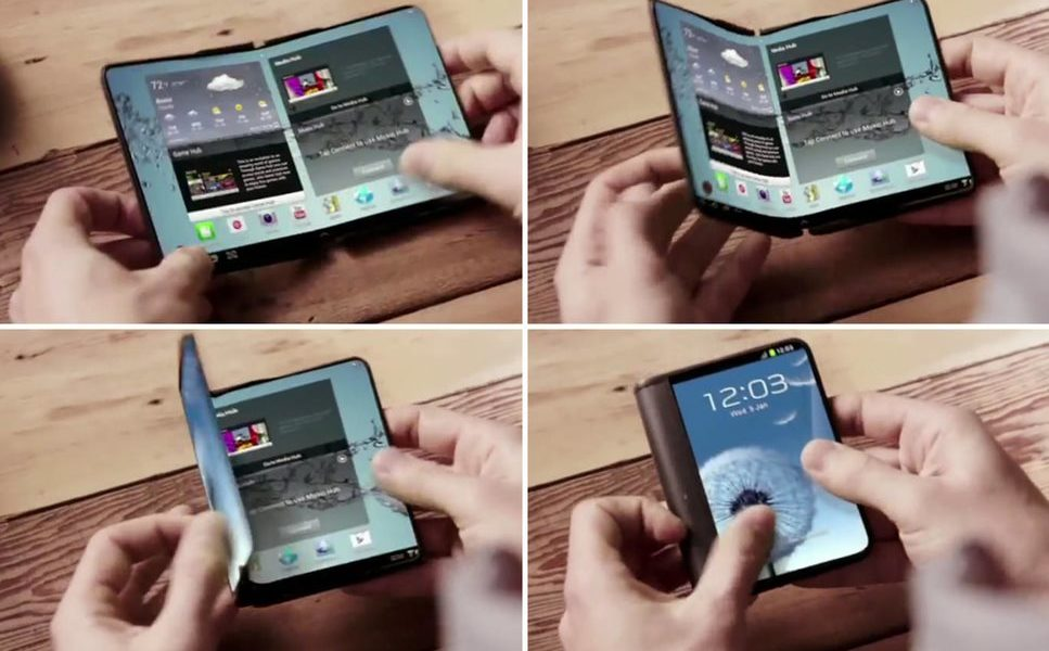 Samsung faltbares Display Konzept Header
