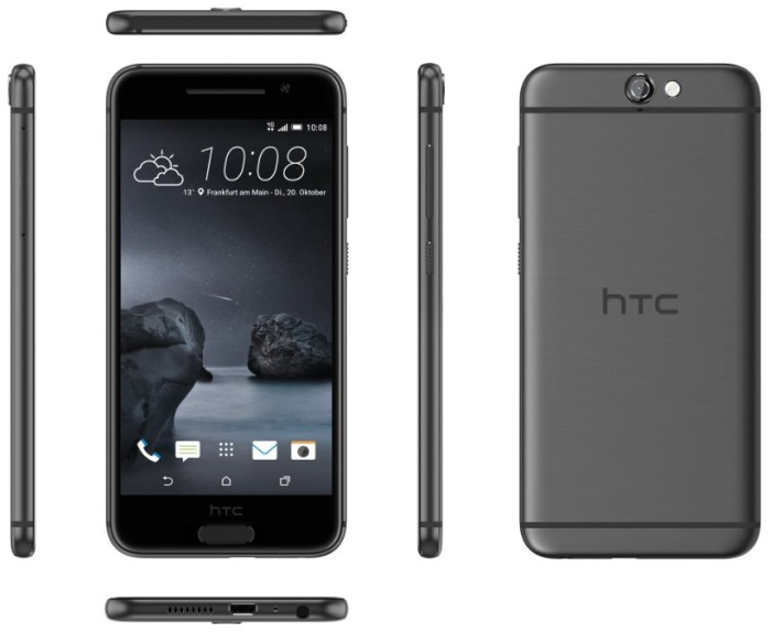 HTC One A9 grau