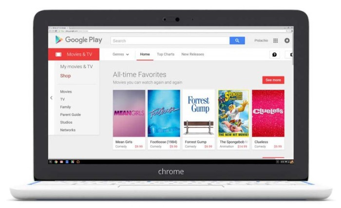 google play movies chromebook