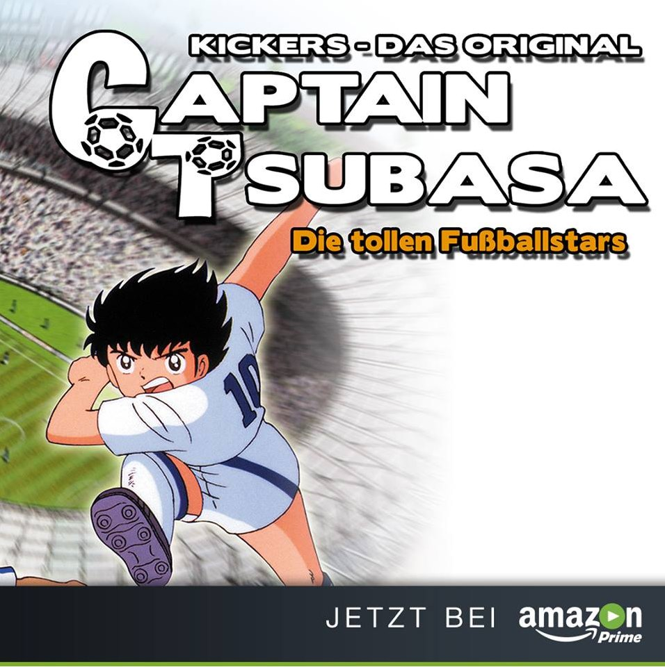 Amazon Prime Instant Video Captain Tsubasa Kickers