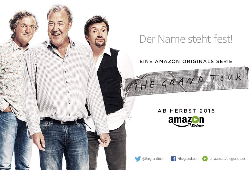 The Grand Tour Amazon Teaser