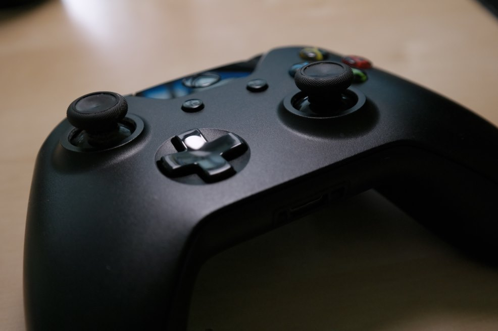 Xbox Controller Gaming Header