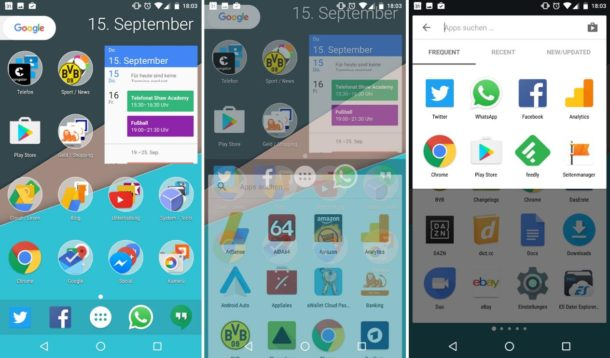 nova launcher beta september 2016