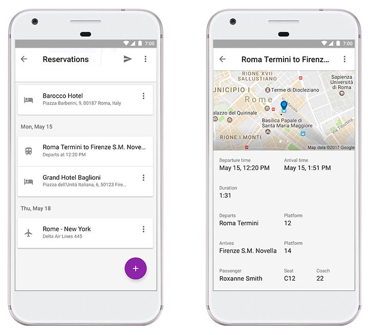 Google Trips April Update