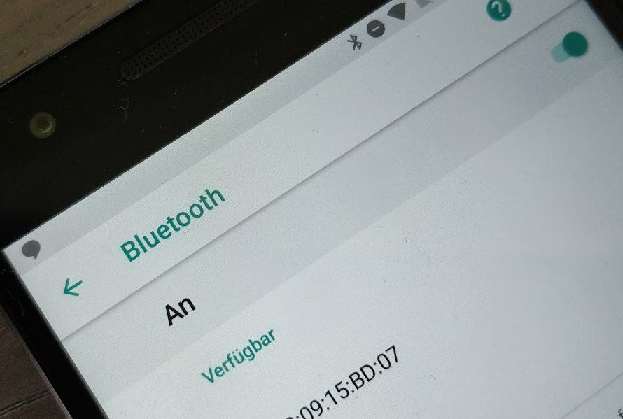 Bluetooth Android 8 Oreo Einstellungen Header