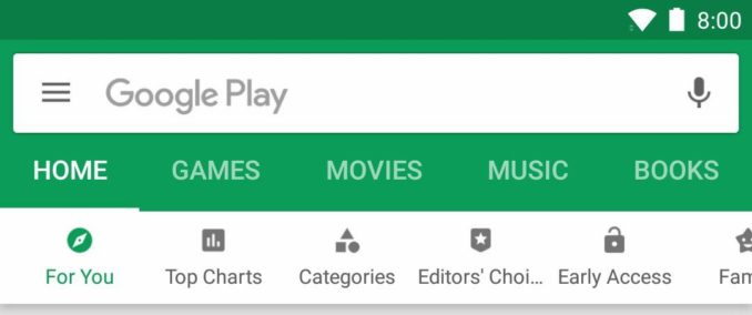 play store oktober 2017 update header