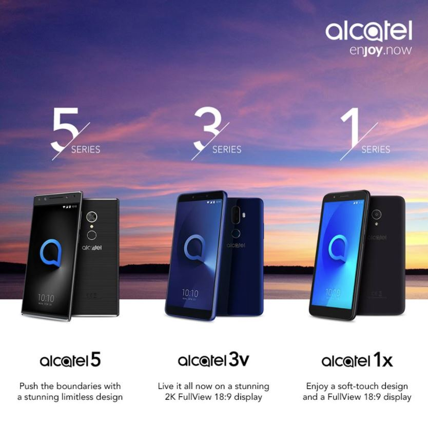 Alcatel MWC 2018 Header