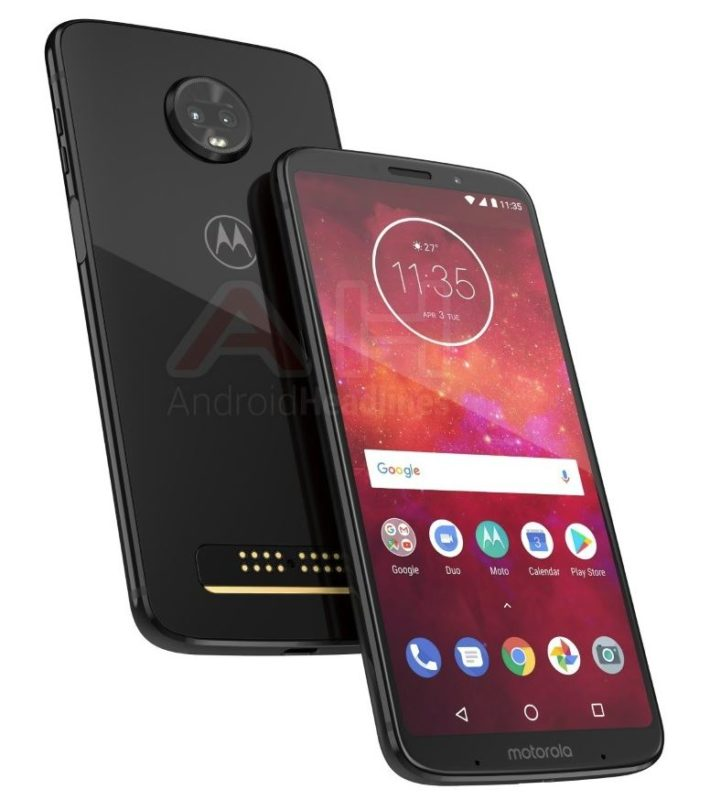 Motorola Moto Z3 Play Header