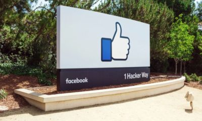 Facebook Like Button Sign Head Quarter Header