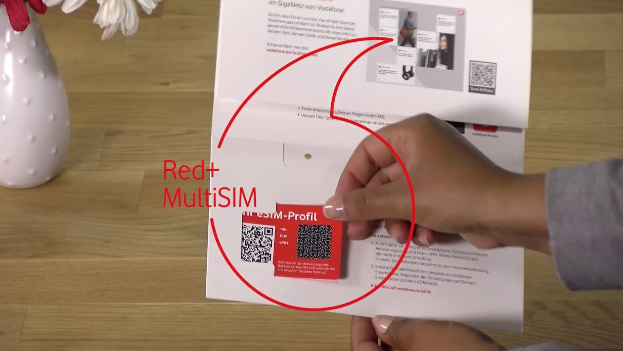 Vodafone Red+ MultiSIM