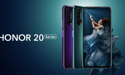 Honor 20 Serie Header
