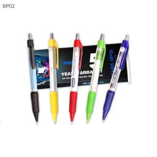 Retractable Pen with Pull Out Banners
