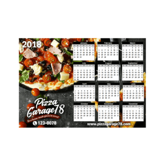 magnetic refrigerator calendar Design and Printing Services Australia