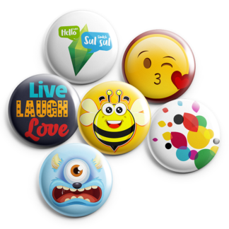 custom button badges