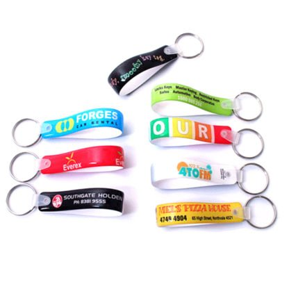 Loop promotional keychains