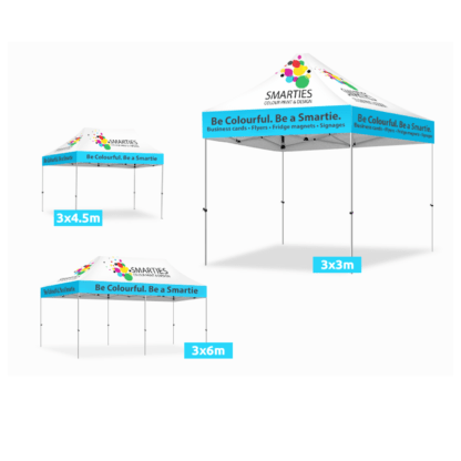 Pop Up Marquee Canopy Design and Printing Services Australia
