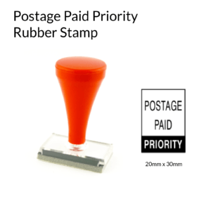 Postage Paid Rubber Stamp Australia