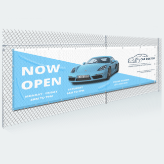 Mesh Banner Design and Printing Services Australia