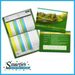 Golf Score Cards Category